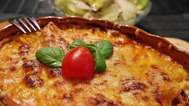 Lasagna koken